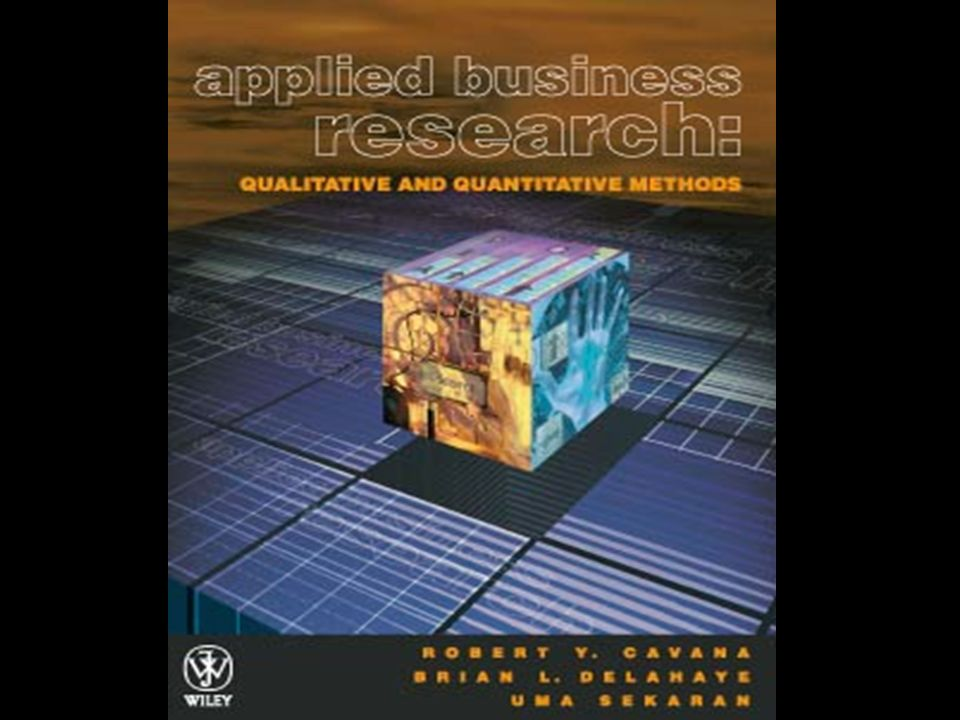 describe the business research process