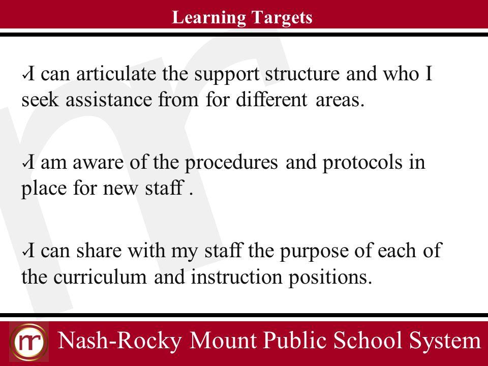 Nash-Rocky Mount Public School System Providing students