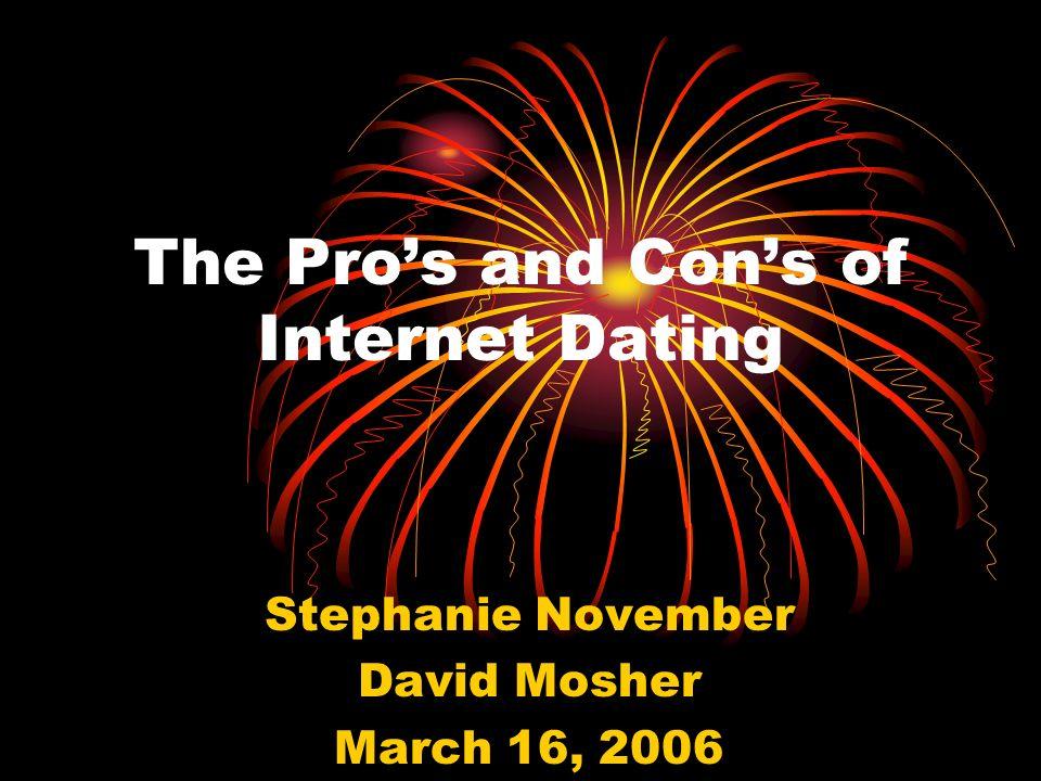 Pro con internet dating