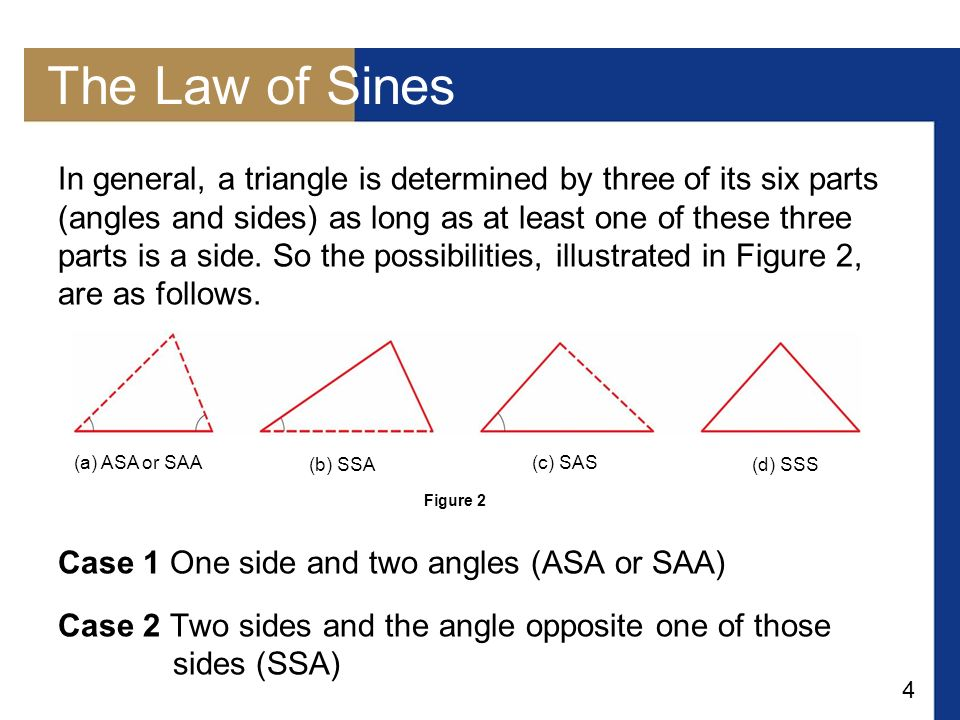 1 Objectives The Law Of Sines The Ambiguous Case Ppt Download