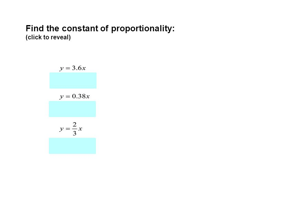 Unit 3 Lesson 6 Constant Of Proportionality And Writing Direct