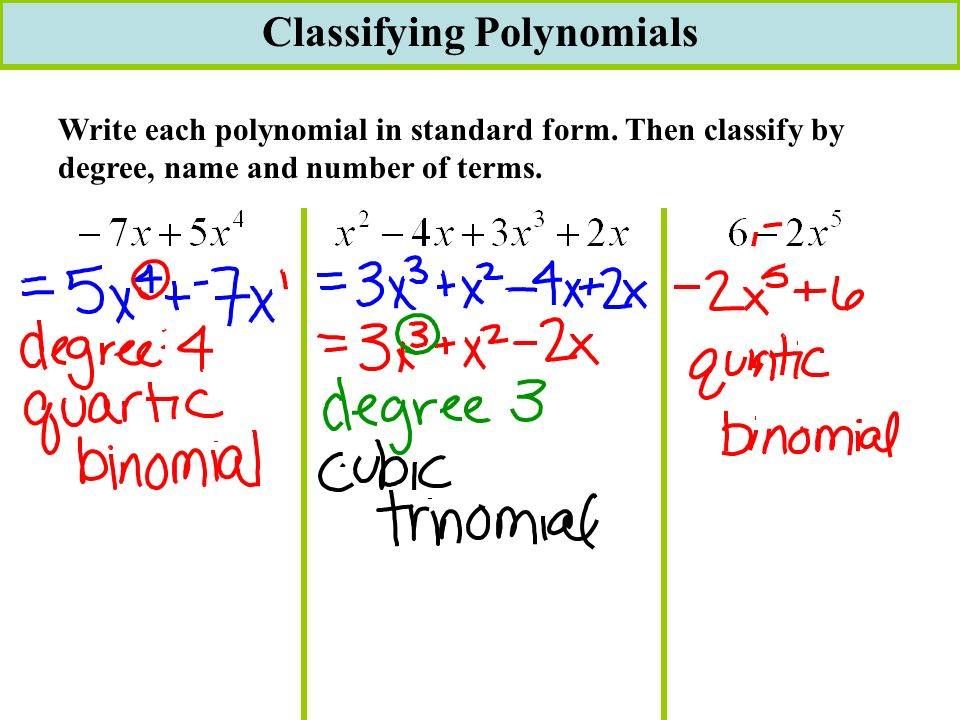 57 Completing The Square Ch 6 Notes Page 38 P38 61 Polynomial