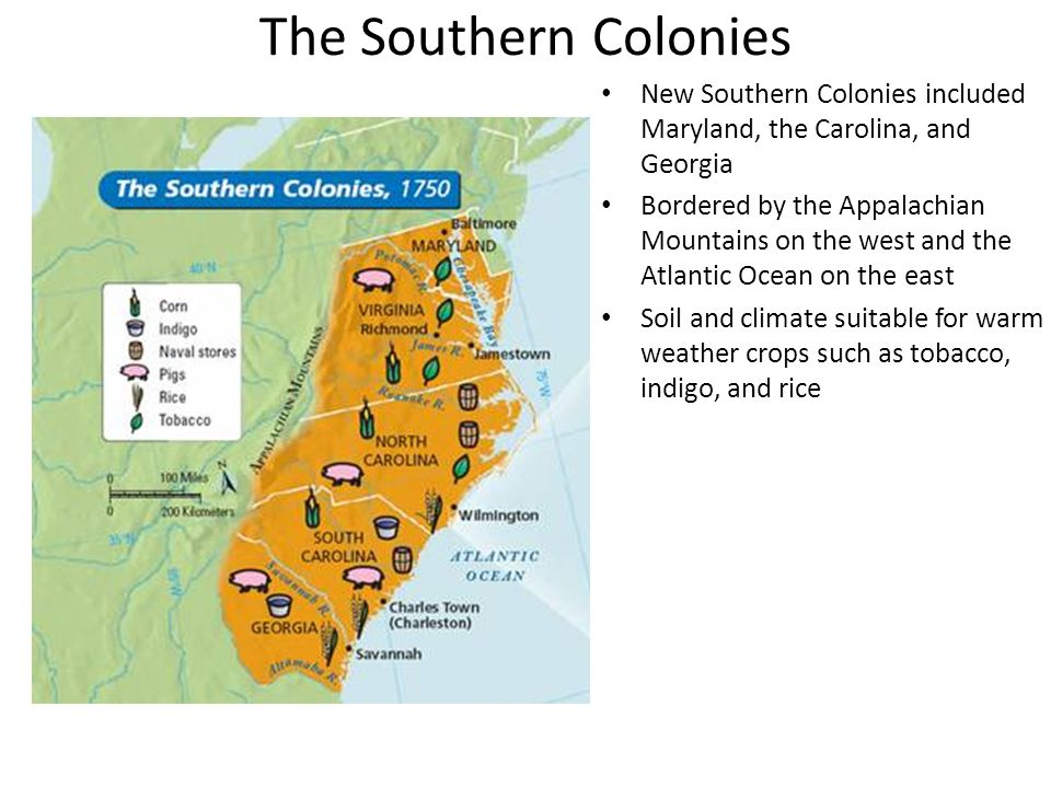 3 3 notes founding the middle and southern colonies ppt download