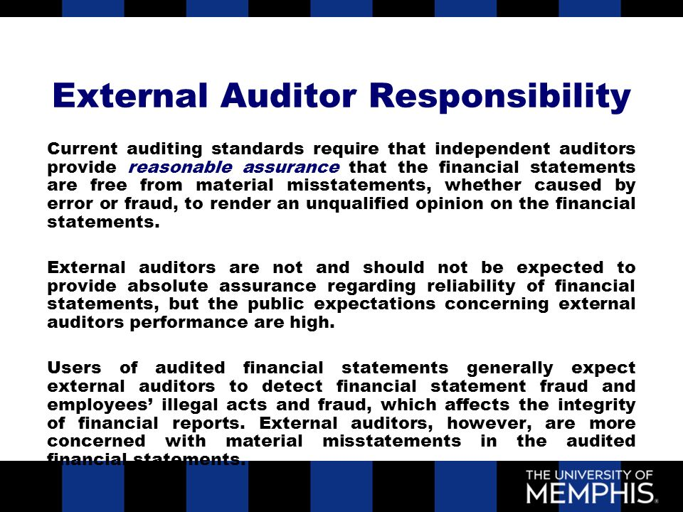 importance of external audit