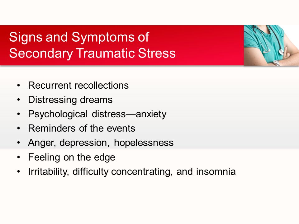 Secondary Traumatic Stress For >> Jenna Ruimveld Secondary Traumatic Stress Disorder In Er Nurses