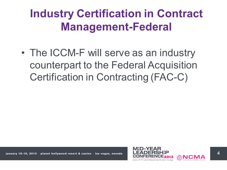 1 Industry Certification In Contract Management Iccm Blake Boynton