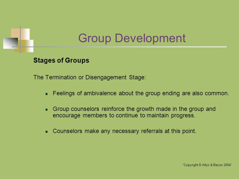 an examination of group development through stage theories and models Stage ii — transition, trust development (5-10 weeks) this is a difficult but significant stage in the development of the small group the members are deciding to be kin and let down the walls through self-disclosure.