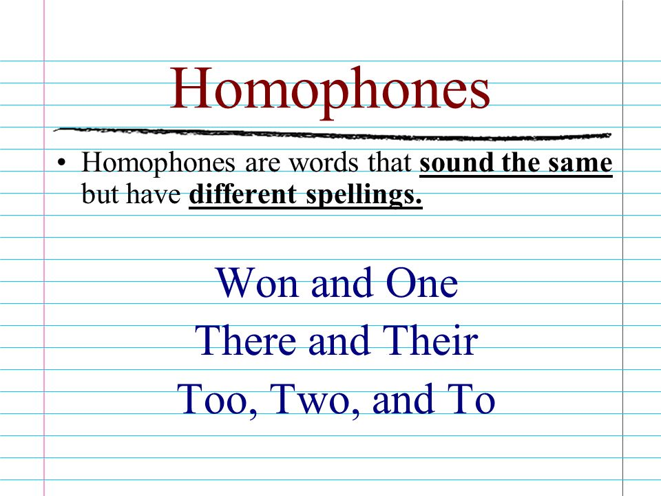 Homophones Homonyms Homographs They All Are Multiple Meaning Words