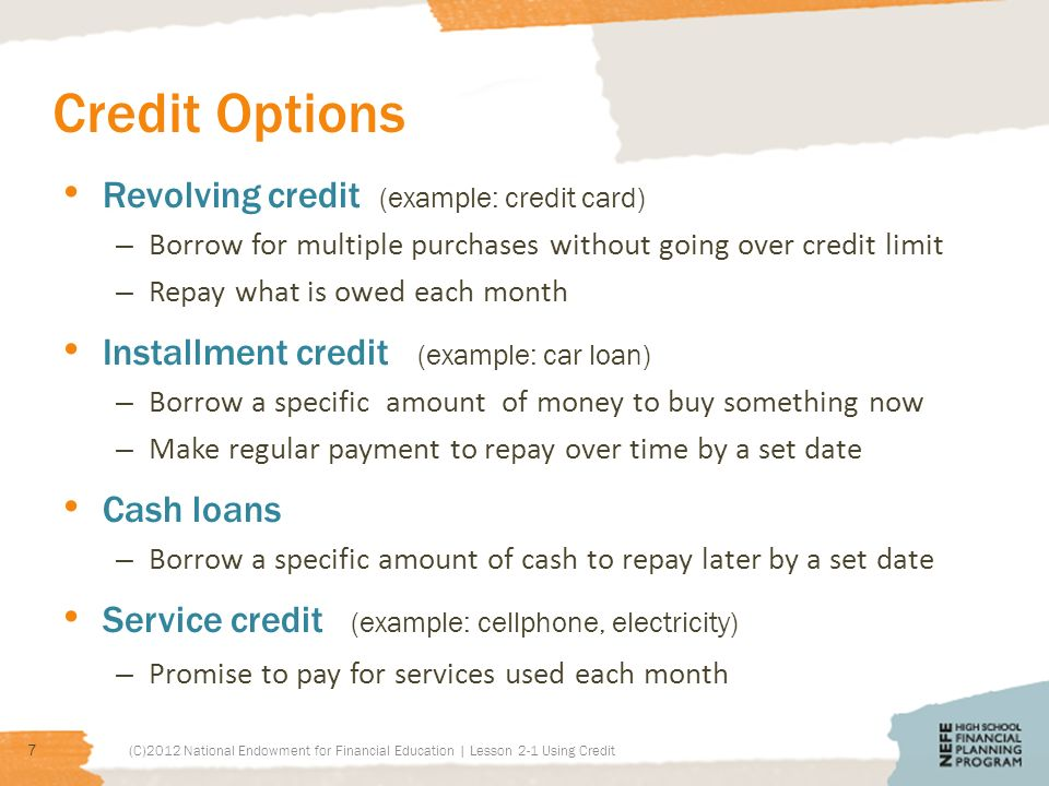 Using Credit Today You Will Examine Reasons Why People Use Credit