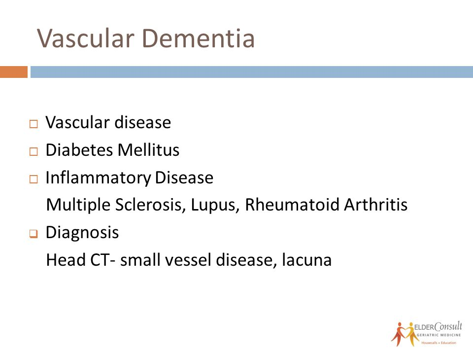 Non Alzheimer's Dementias Elizabeth Landsverk, MD Geriatrician