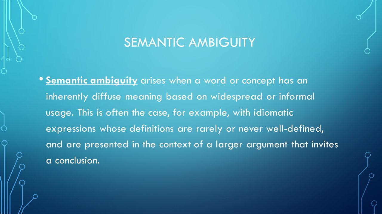 AMBIGUITY DONE BY SAMAR NAIF HINDI SUBMITTED TO WALEED AMER