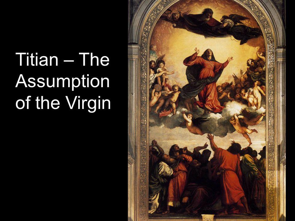 Coronation of the virgin by titian