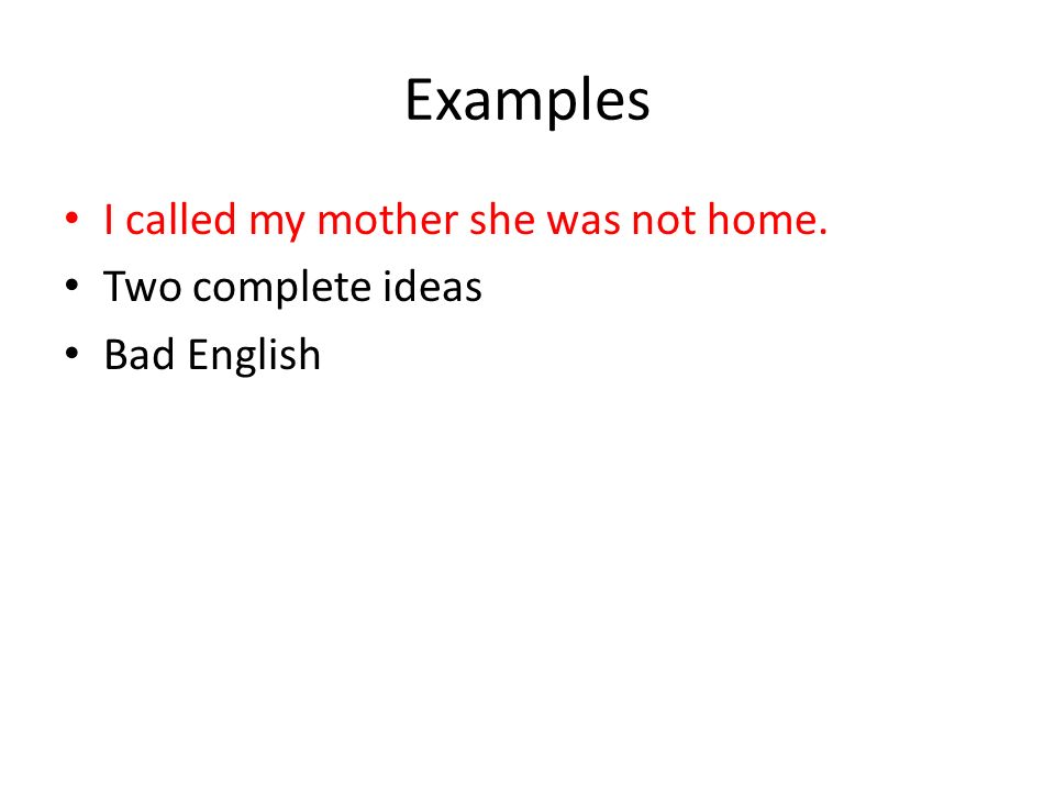 Writing Good Sentences – Part 4 Run-on Sentences  - ppt download