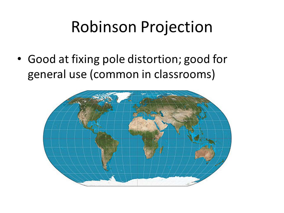 Basic Map Projections AP Human Geography. Distortion and ...