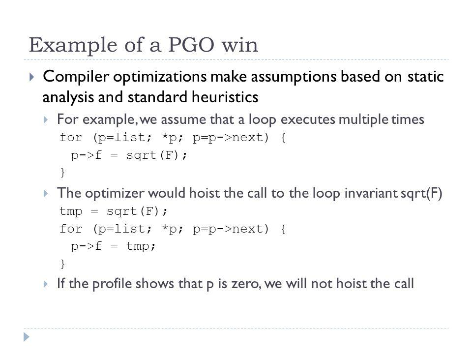 profile guided optimizations in visual c andrew pardoe phoenix team