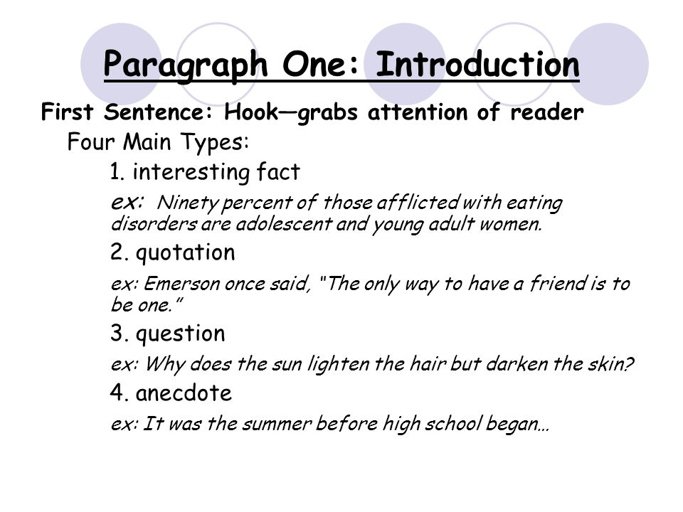 how to structure paragraphs in an essay