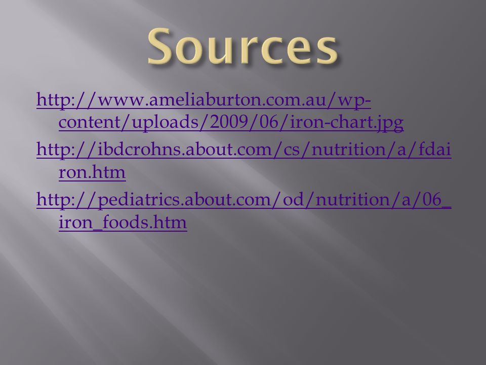 is the iron inside your common breakfast cereal tangible ppt download
