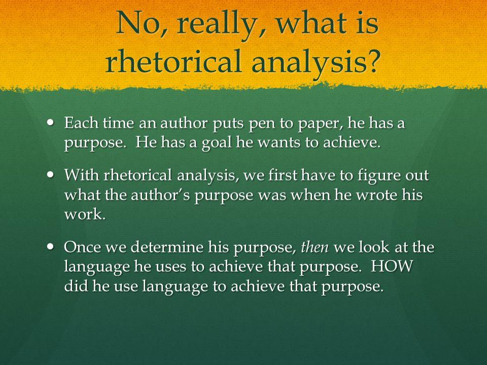 author analysis