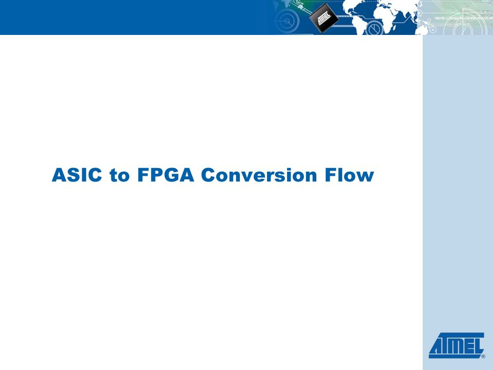 Asic To Fpga Conversion Flow Conversion Feasibility Flow Chart
