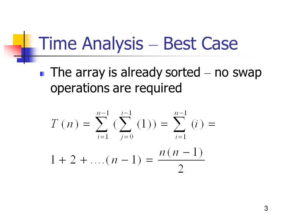 best case analysis