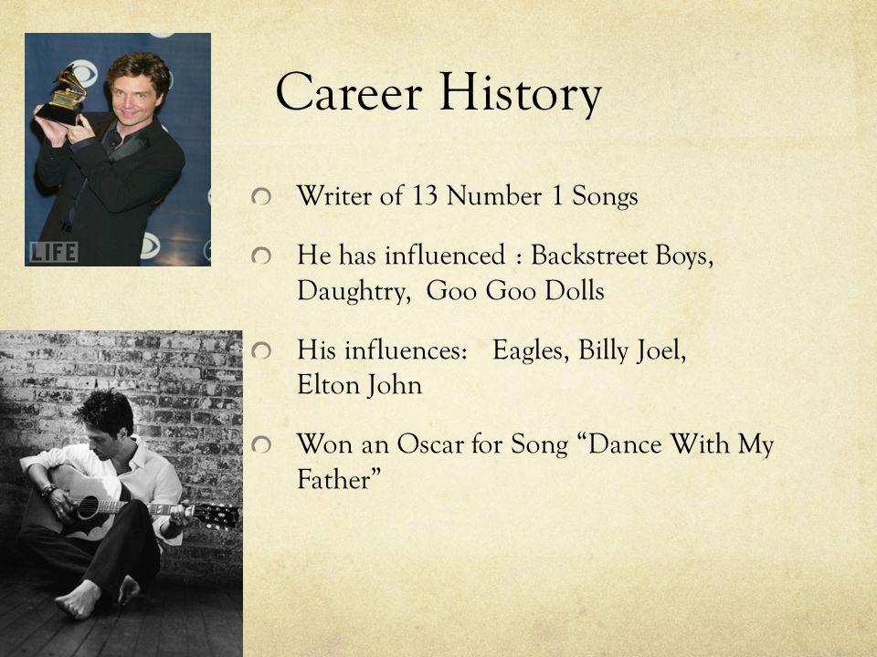 RICHARD MARX 03/19/2011  Biography Richard Noel Marx Born