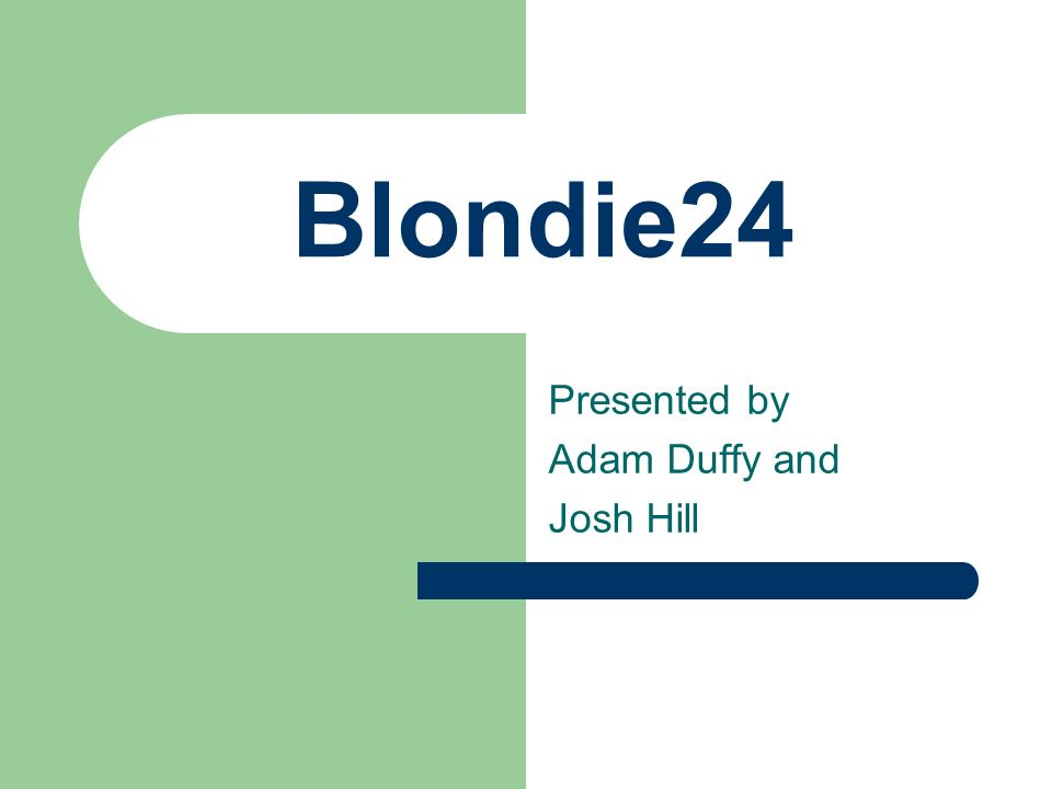 Blondie24
