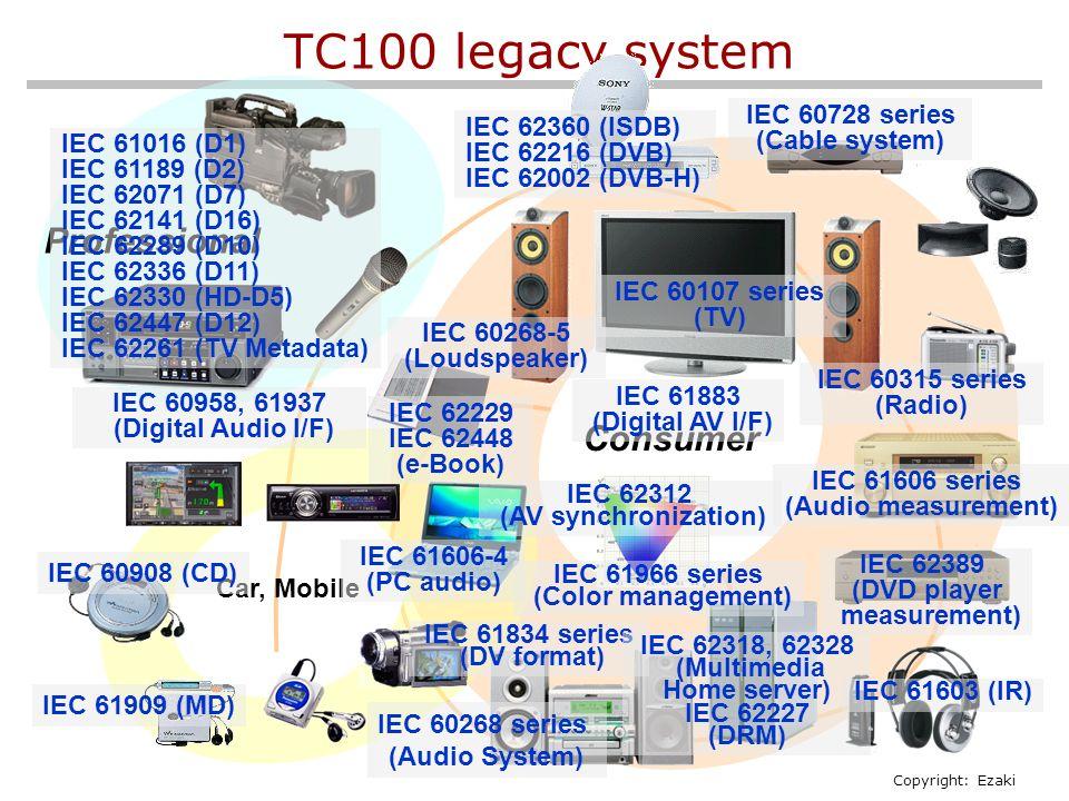 New TC100 standardization model including IPTV, PC hardware and etc
