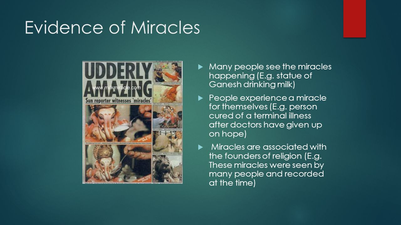 Miracles ROHAN DRONSFIELD AND THOMAS MOHAN  Key Terms  Laws of