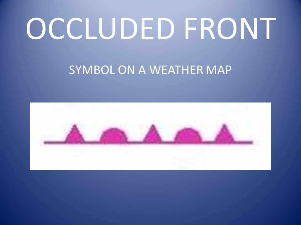 Fronts Where Two Air Masses Meet But Do Not Mix Ppt Download