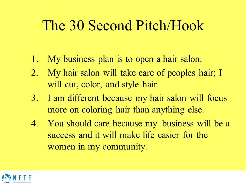 business plan for hair salon