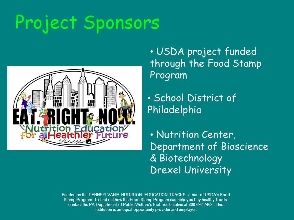 Energy Balance Project Sponsors School District Of Philadelphia