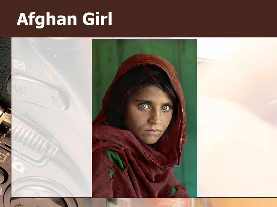 Afghan girl in saxe agree with