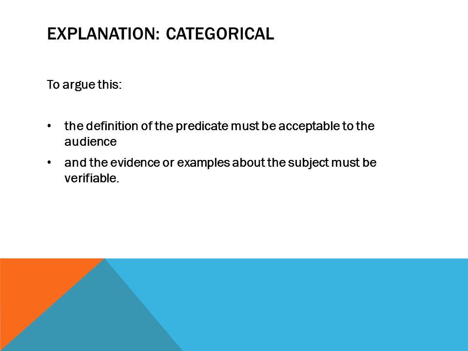 argument position paper example