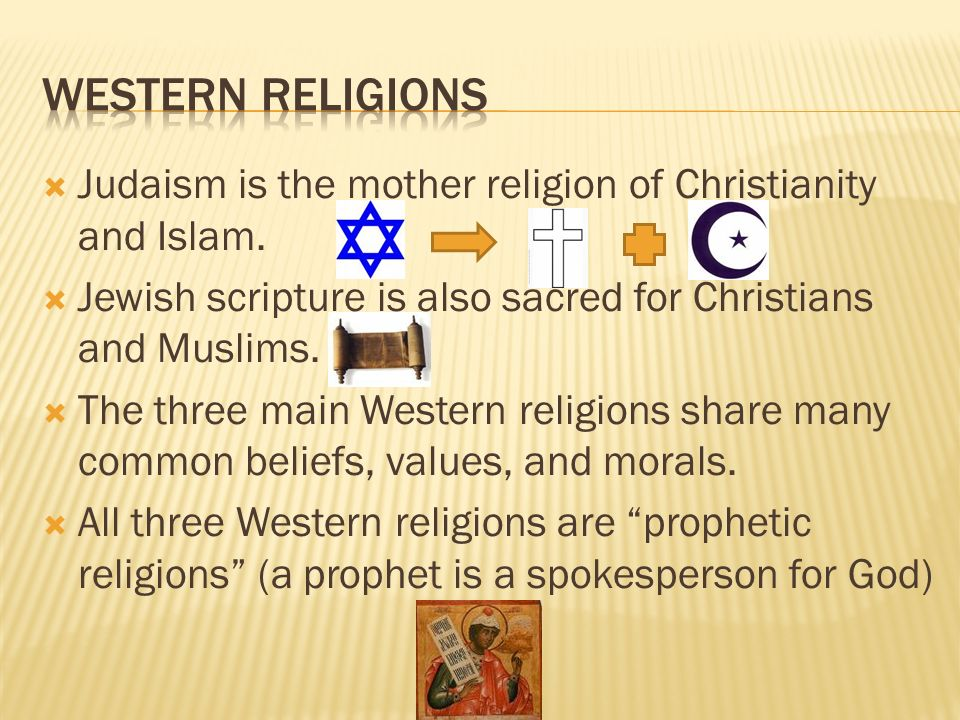 Western religions