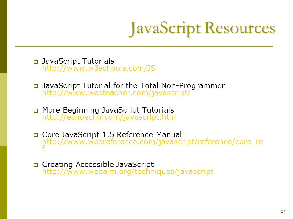 javascript chapter 4 topic to be covered what is javascript what rh slideplayer com javascript reference manual pdf download javascript reference manual pdf download
