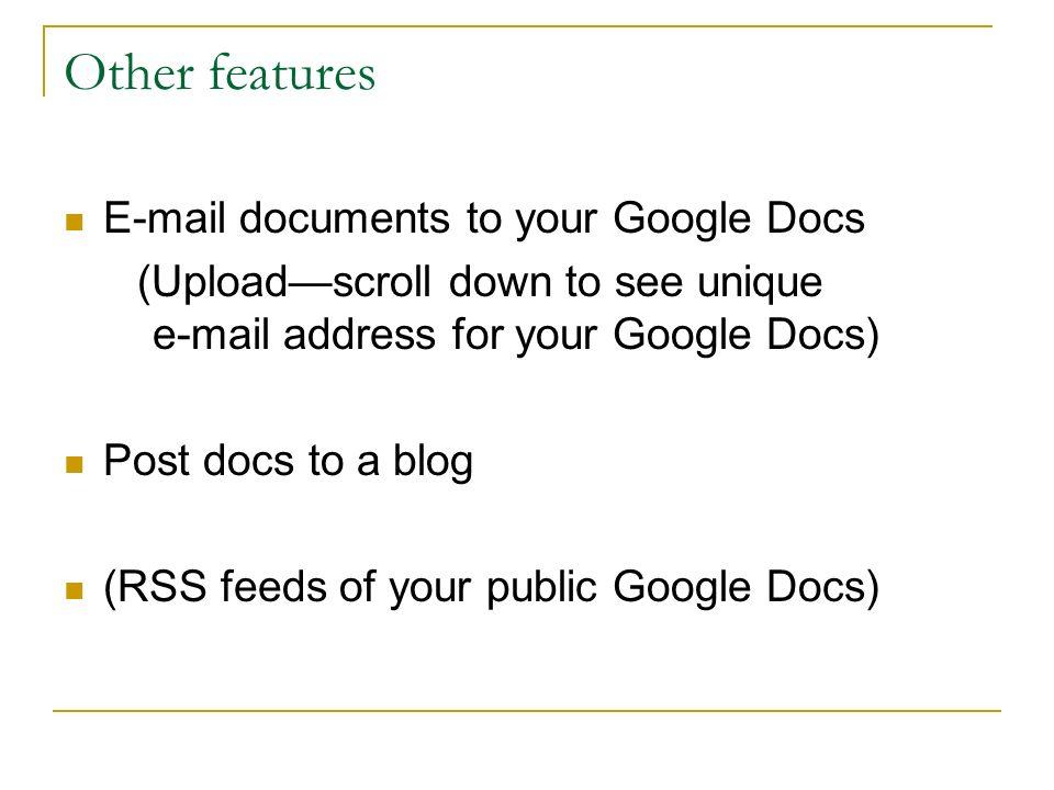 Google Docs Rocks Google Documents For Librarians Computerside Chat - Public google docs