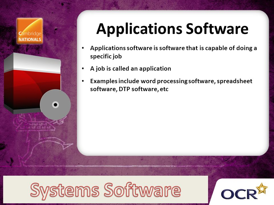 Applications Software Applications Software Is Software That Is