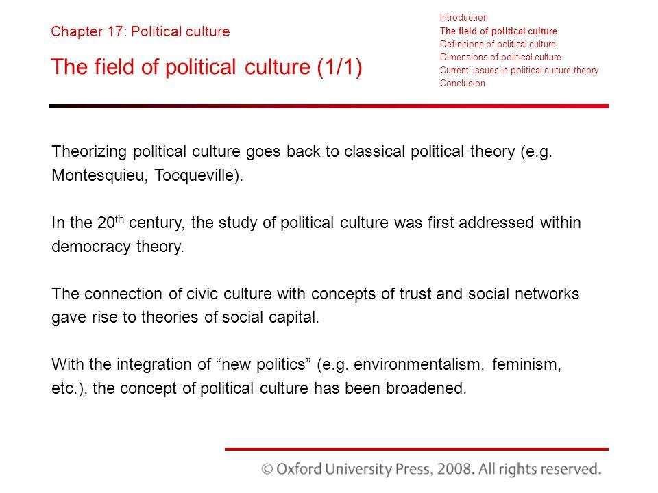 concept of political culture