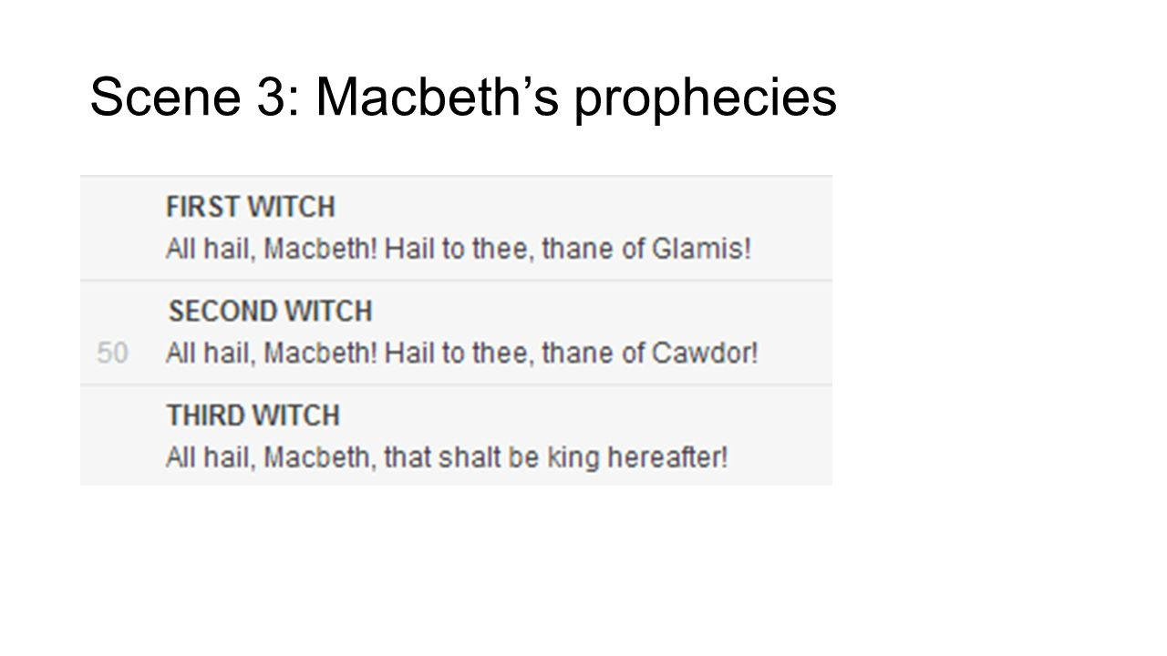 macbeth prophecies