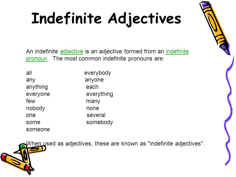 using indefinite pronouns using indefinite pronouns ppt download