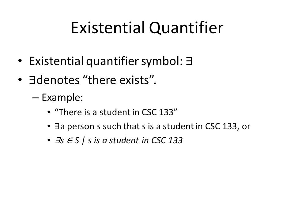 Chapter 2 The Logic Of Quantified Statements Section 21 Intro To