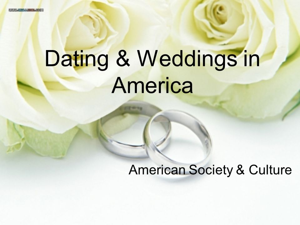 dating in american