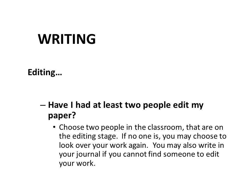 edit my paper