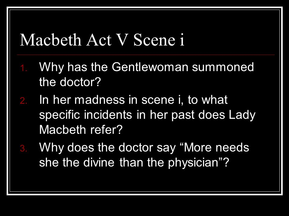 doctor in macbeth significance