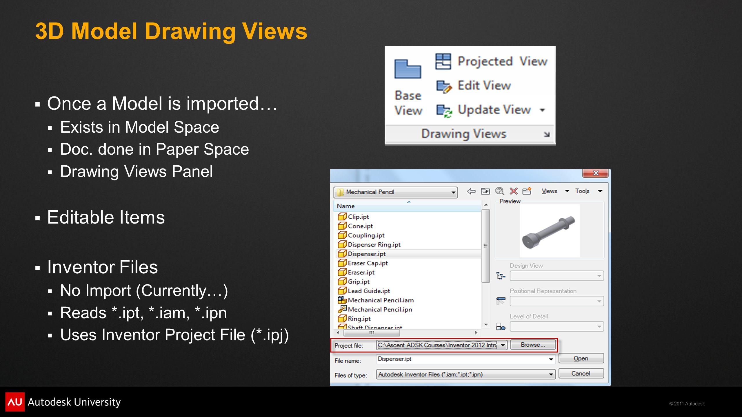 2011 Autodesk MA5737 – Mechanical Advantage: Using AutoCAD