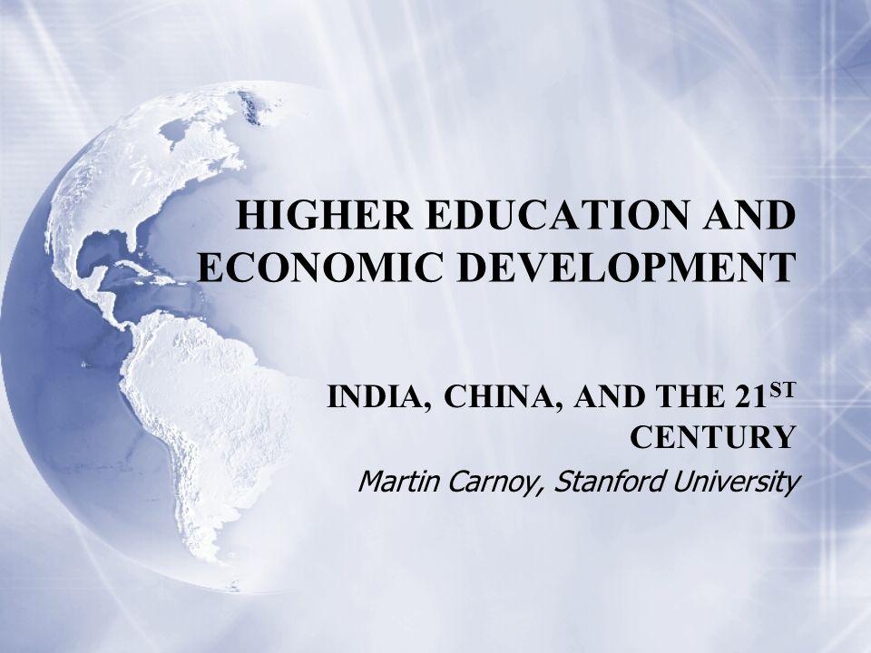 development of india in 21st century