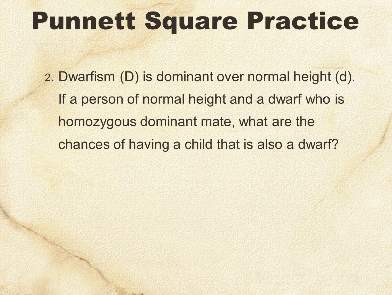 Chances of dwarfism