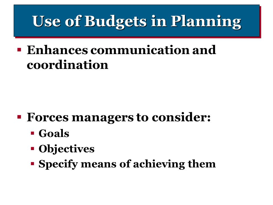 Budget planning and controlling uzh bwl flyer