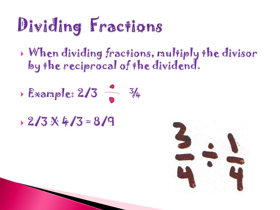  When multiplying fractions you multiply both the numerators together.