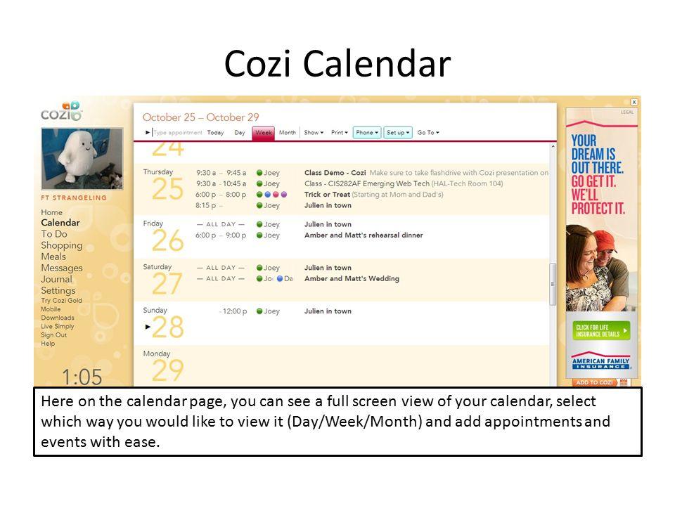 Cozi Home Organizer A Complete Family Organizer App By Joey Feigley